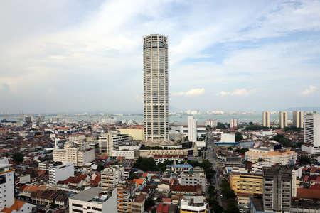 georgetown: city of georgetown penang Stock Photo