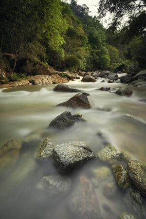 Chamang Waterfall, Bentong, Malaysia - Nature beauty water fall at Bentong, Pahang