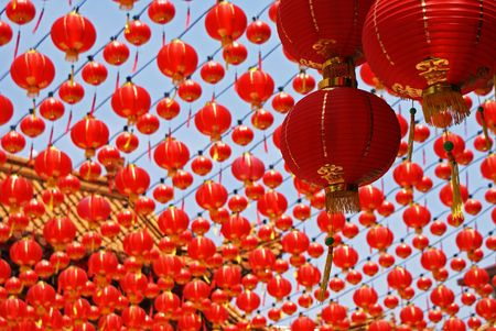 colorful lantern: Chinese New Year Decorations
