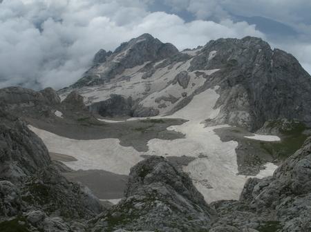 fisht: mountain Fisht Stock Photo