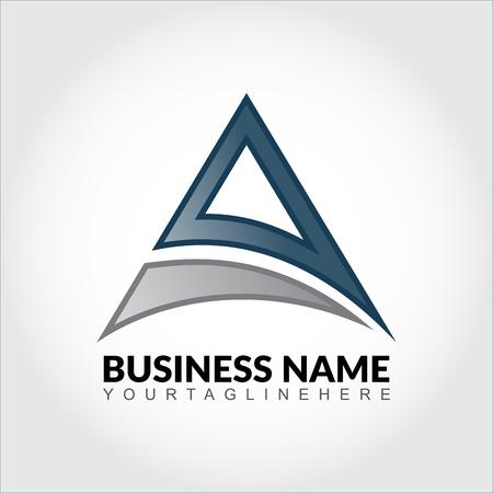 bionics: Abstract triangle business logo Illustration