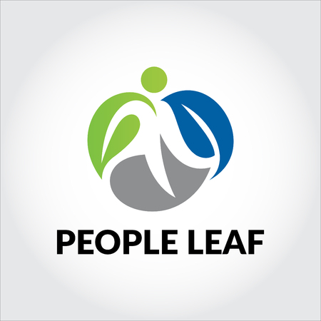 People leaf logo
