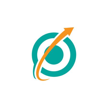 complex navigation: arrow business logo