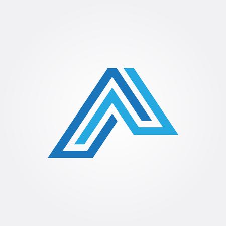 dak logo Stock Illustratie