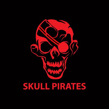 A skull pirates icon