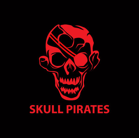 A skull pirates icon