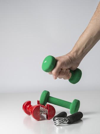 the equipment: fitness equipment
