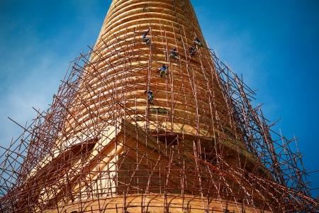 Phra Pathom Chedi Wat Suan Dok  Nakhon Pathom    Thailand photo