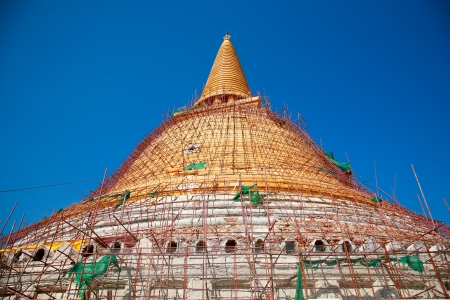 Phra Nakhon Pathom Chedi Pathom en Tha�lande photo