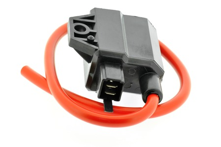 coil car: Ignition Coil motorcycle Stock Photo