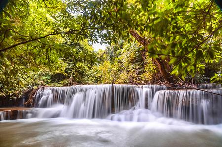 Huay Mae khamin waterfall photo