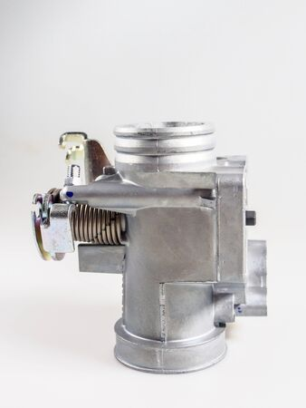 THROTTLE BODY ASSY MOTORCYCLE SPARE PART Banque d'images