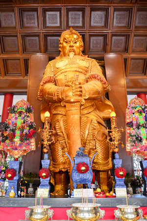che Kong Temple or Turbine Temple In Hong Kong