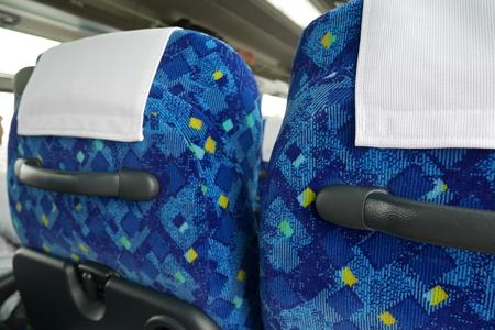 asiento: bus Foto de archivo