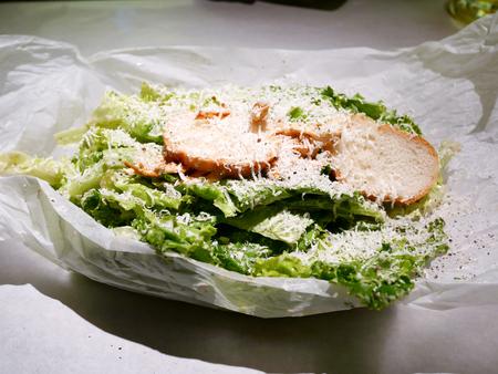 catch up: Tetsukami salad JAPAN, hand catch Up
