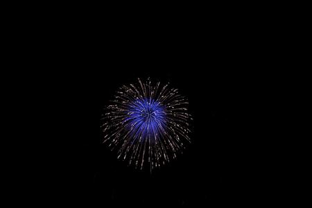river scape: fireworks, SETAGAYA TOKYO JAPAN