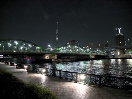 sumida: Japan Tokyo Sumida River Stock Photo