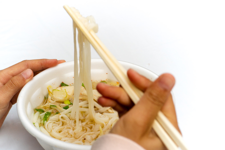 spicy: Spicy Noodle Stock Photo