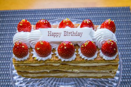 お誕生日おめでとうケーキ