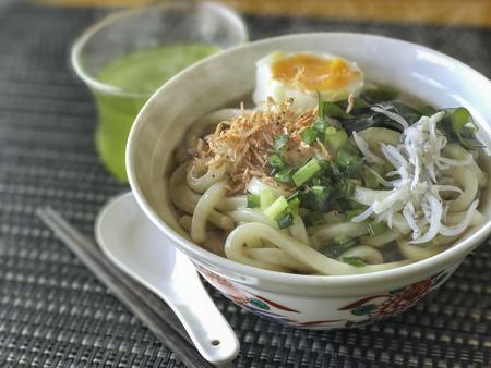 Japanese cuisine,udon Reklamní fotografie - 69090847