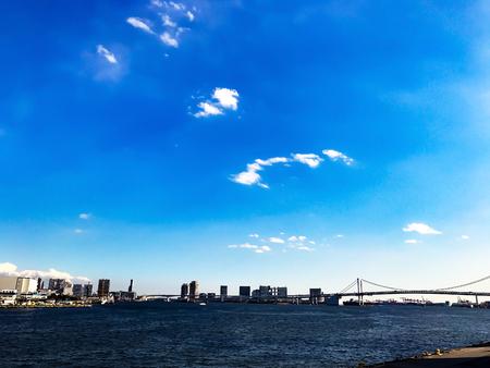 汐留 ·晴海 ·築地エリア 写真素材