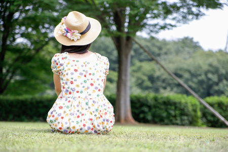 person female Japanese Stock Photo