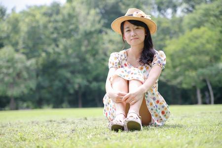 Personne femme japonais Banque d'images - 87587170