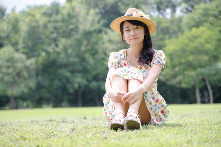 persoon vrouwelijk Japans Stockfoto