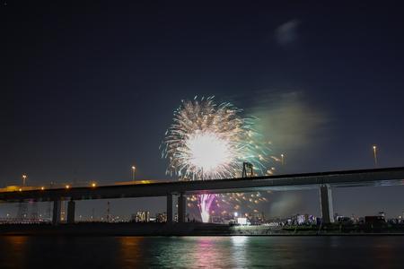 firework, tokyo JAPAN