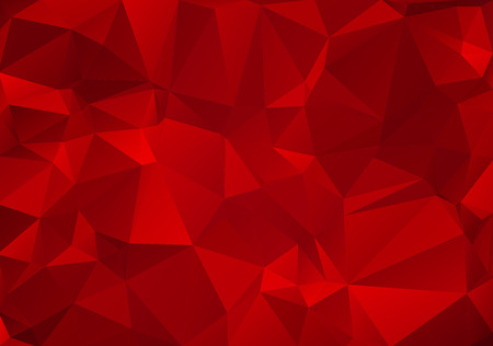diamond shape: Abstract background made of small multicolor triangles. Red, orange, yellow, hot, warm Illustration