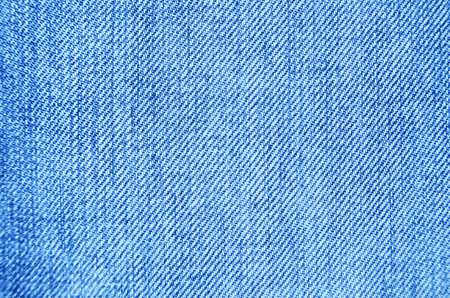 Blue Jeans Cloth With Seam Background Texture Vignette