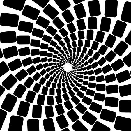 Spiral abstract pattern Illustration