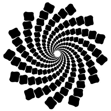 Spiral abstract pattern Reklamní fotografie - 87045596