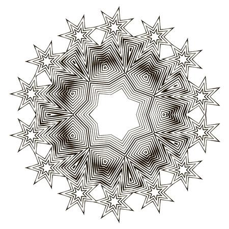 Spiral abstract pattern Reklamní fotografie - 87045607