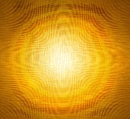 Abstract spiral on orange and yellow background. Template for design.