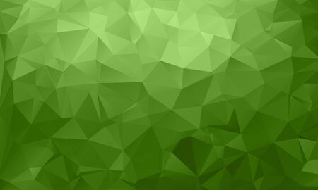 Abstract green, environmental background from triangles, vector illustration. EPS10. Vecteurs
