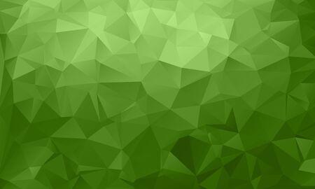 Abstract green, environmental background from triangles, vector illustration. EPS10. Vektoros illusztráció