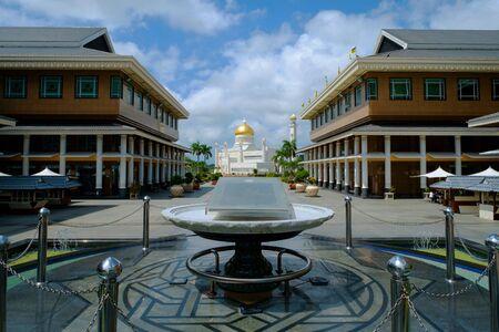 View of Masjid Omar Ali Saifuddin, Brunei