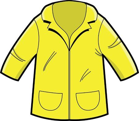 레인 코트의 그림