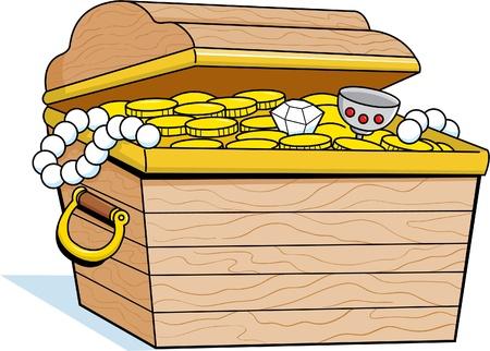 Treasure Chest Standard-Bild - 13320081
