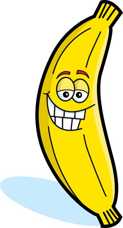 Happy Banana Vector