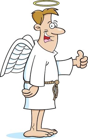 천사의 만화 그림