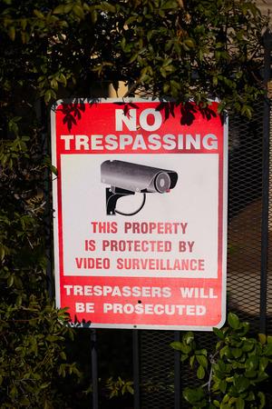 不法侵入の兆候