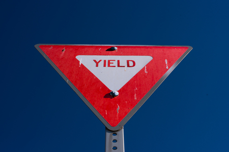 yield: Yield Sign