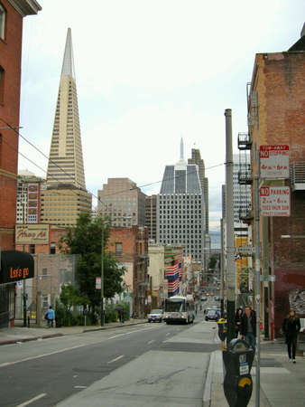 san fran: Downtown San Francisco during daytime.