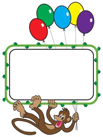 scamp: Balloon Monkey