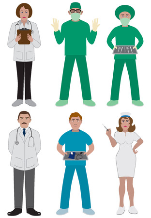 peering: Team of medical professionals
