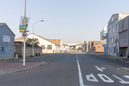 Durban-South Africa-August 2019- A front view of one of the main roads in Durban on a early winters morning