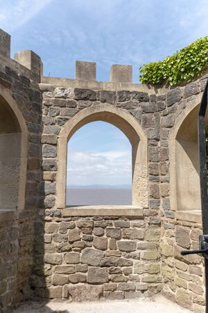 Bristol-May-2020-England-the view from inside the sugar lockout in clevedon