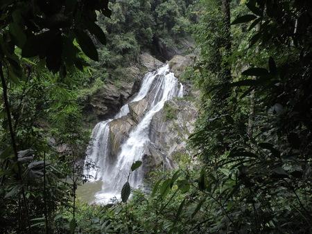 Krung Ching waterfall in NakhonSri Thammarat, Thailand.